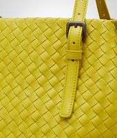 New Chartreuse Intrecciato Nappa Tote Bag