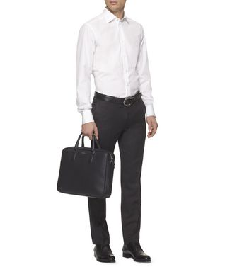 ERMENEGILDO ZEGNA: Office And Laptop Bag Black - 45237463ND