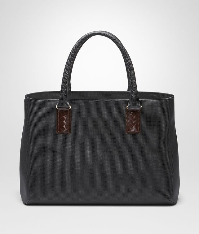 BOTTEGA VENETA TOTE BAG IN NERO MARCOPOLO Shopper E fp