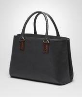 TOTE BAG IN NERO MARCOPOLO