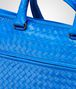BOTTEGA VENETA Signal Blue Intrecciato Light Calf Briefcase Business bag U ep