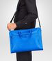 BOTTEGA VENETA Signal Blue Intrecciato Light Calf Briefcase Business bag U lp