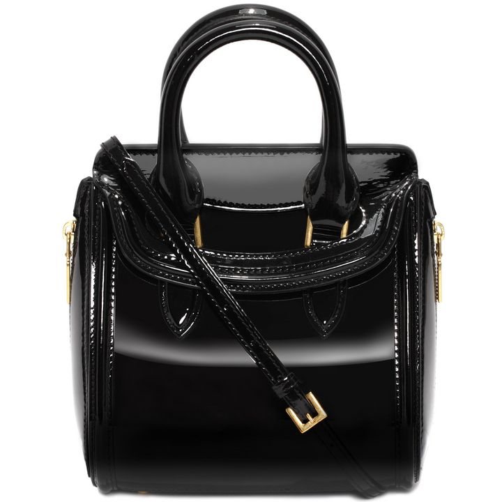 Alexander McQueen, Glossy Patent Leather Mini Heroine