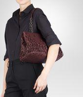 Aubergine Intreccio Tobu Bag