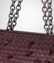 BOTTEGA VENETA Aubergine Intreccio Tobu Bag Shoulder or hobo bag D ep