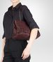 BOTTEGA VENETA Aubergine Intreccio Tobu Bag Shoulder or hobo bag D lp