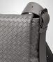 BOTTEGA VENETA MESSENGER BAG IN NEW LIGHT GREY INTRECCIATO CALF Messenger Bag U ep