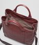 BOTTEGA VENETA SHOPPER AUBERGINE IN NAPPA LAVATA INTRECCIATA Borsa Shopping U dp