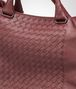 BOTTEGA VENETA SHOPPER AUBERGINE IN NAPPA LAVATA INTRECCIATA Borsa Shopping U ep