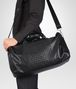 BOTTEGA VENETA Nero Intrecciato Washed Nappa Duffel bag Trolley and Carry-on bag U lp