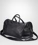 BOTTEGA VENETA Nero Intrecciato Washed Nappa Duffel bag Trolley and Carry-on bag U rp