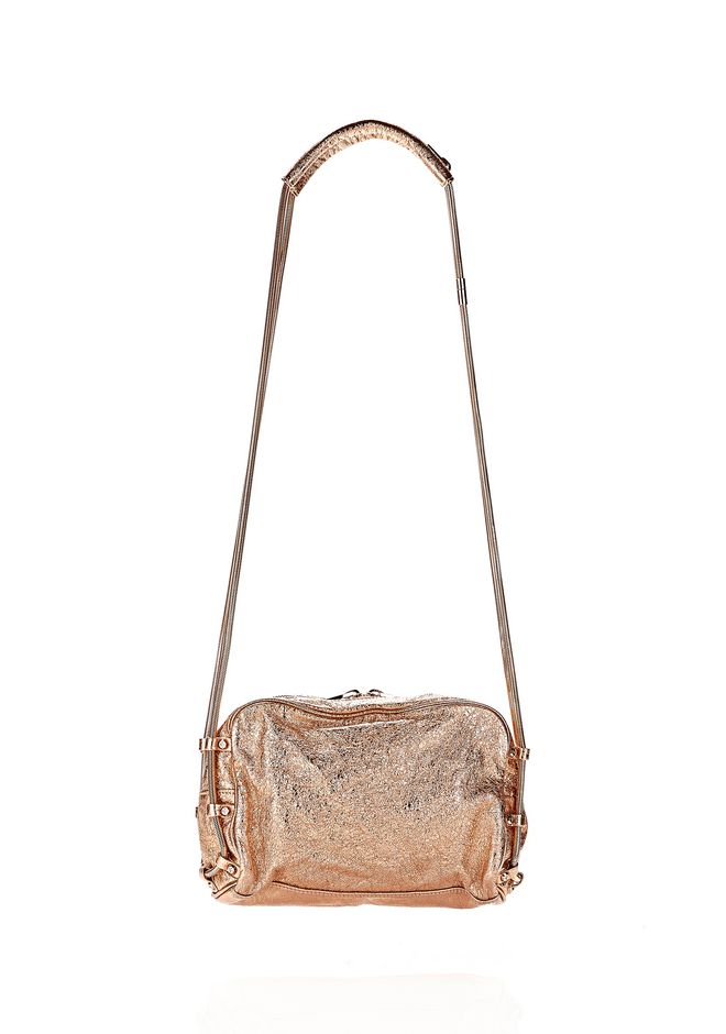 ALEXANDER WANG BRENDA CHAIN FOIL IN ROSE GOLD Shoulder bag Adult 12_n_r