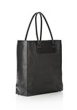 ALEXANDER WANG PRISMA TOTE  IN GRID EMBOSSED BLACK TOTE Adult 8_n_e