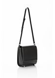 ALEXANDER WANG CHASTITY MESSENGER IN SMOOTH BLACK Shoulder bag Adult 8_n_a