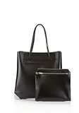 ALEXANDER WANG PRISMA LARGE TOTE IN EMBOSSED OYSTER TOTE Adult 8_n_d