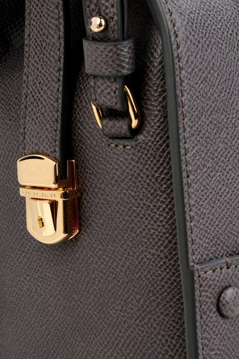SMALL TOTE GIORGIO ARMANI BORGONUOVO BAG: Bowling bags Women by Armani - 4