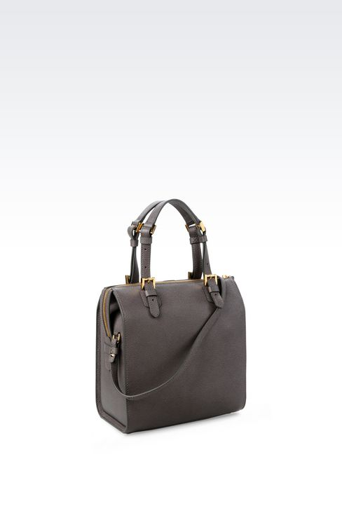 SMALL TOTE GIORGIO ARMANI BORGONUOVO BAG: Bowling bags Women by Armani - 2