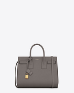 CLASSIC SMALL SAC DE JOUR BAG in Fog Leather
