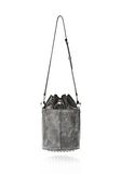 ALEXANDER WANG EXCLUSIVE DISTRESSED BUCKET BAG IN EROSION  Shoulder bag Adult 8_n_a