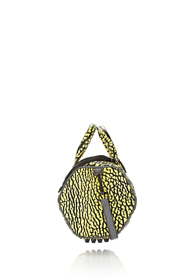 ALEXANDER WANG ROCKIE SLING IN CONTRAST TIP CITRON Shoulder bag Adult 12_n_e
