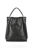 ALEXANDER WANG INSIDE OUT DARCY TOTE IN SHINY BLACK TOTE Adult 8_n_f