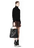 ALEXANDER WANG INSIDE OUT DARCY TOTE IN SHINY BLACK TOTE Adult 8_n_r