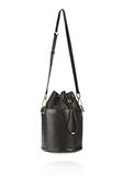 ALEXANDER WANG BUCKET BAG IN  BLACK WITH YELLOW GOLD Shoulder bag Adult 8_n_e