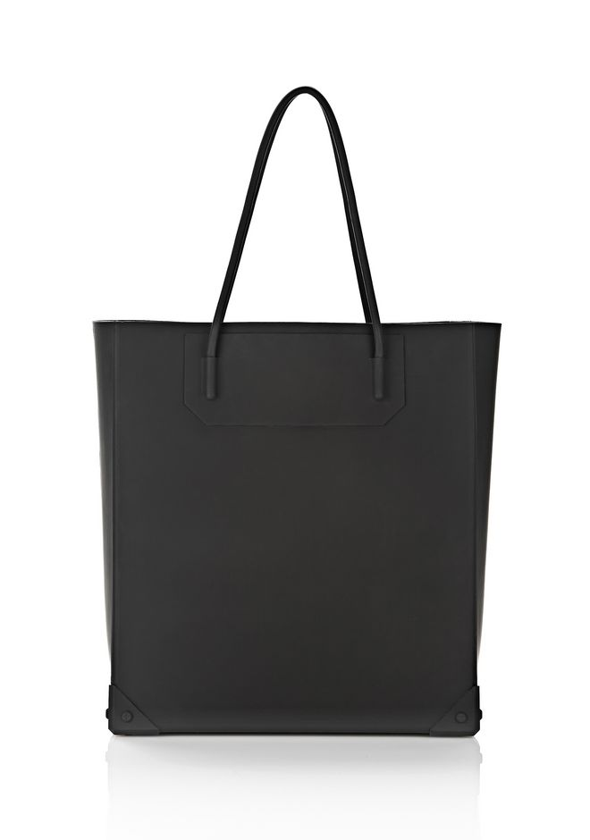 ALEXANDER WANG SILICON TOTE IN BLACK