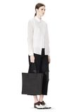 ALEXANDER WANG SILICON TOTE IN BLACK TOTE Adult 8_n_r