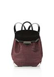 ALEXANDER WANG PRISMA SKELETAL BACKPACK IN BEET BACKPACK Adult 8_n_f