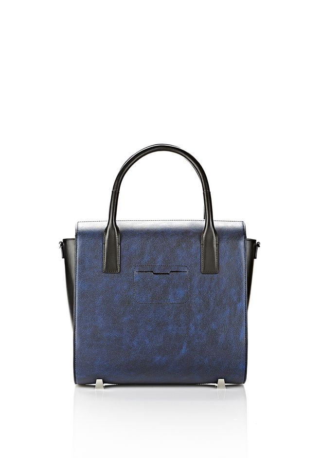 ALEXANDER WANG LARGE CHASTITY SATCHEL IN DISTRESSED NILE TOTE Adult 12_n_d