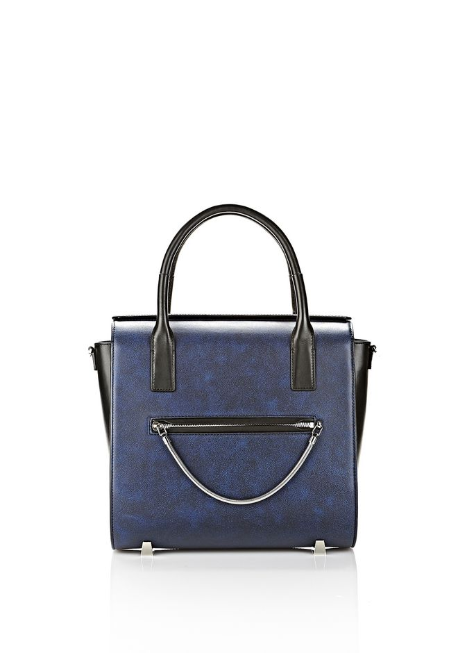 ALEXANDER WANG LARGE CHASTITY SATCHEL IN DISTRESSED NILE TOTE Adult 12_n_f