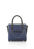 ALEXANDER WANG LARGE CHASTITY SATCHEL IN DISTRESSED NILE TOTE Adult 8_n_f