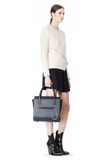 ALEXANDER WANG LARGE CHASTITY SATCHEL IN DISTRESSED NILE TOTE Adult 8_n_r