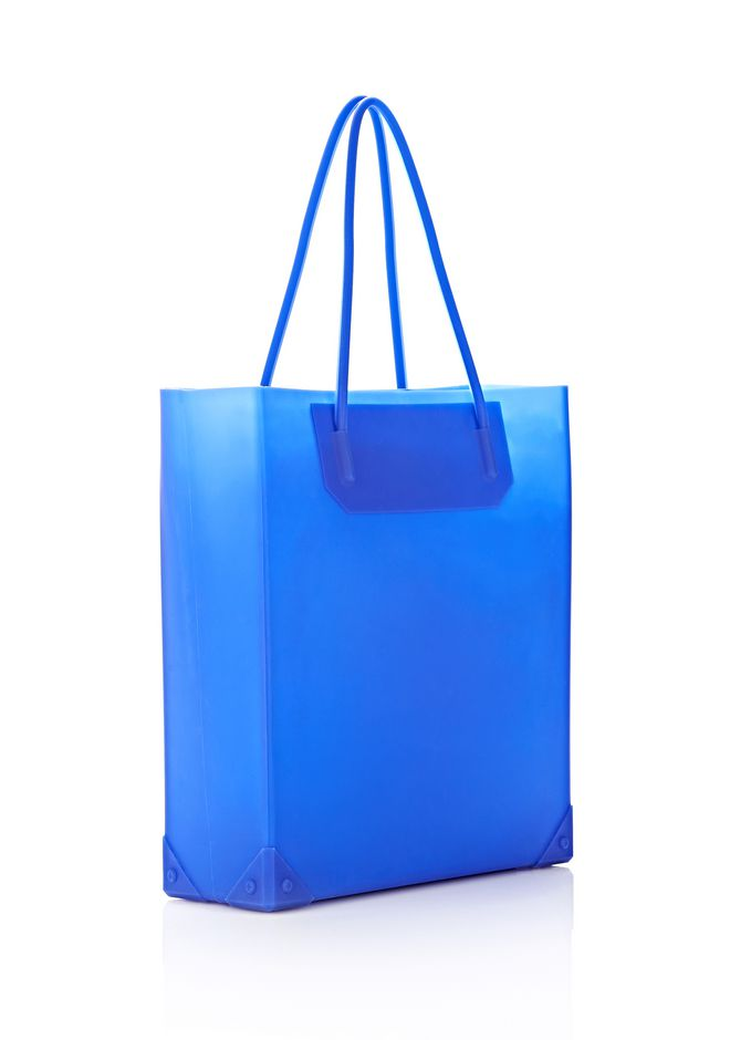 ALEXANDER WANG SILICON TOTE IN NILE TOTE Adult 12_n_d