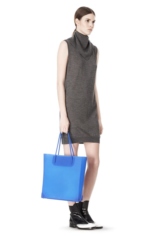ALEXANDER WANG SILICON TOTE IN NILE TOTE Adult 12_n_r