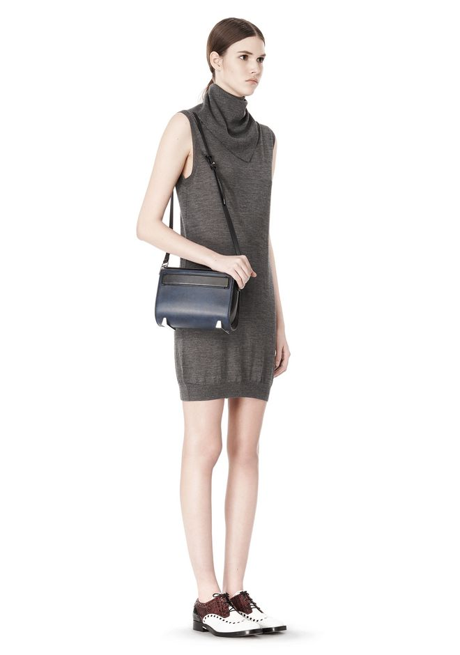 ALEXANDER WANG CHASTITY SLING IN DISTRESSED NILE Shoulder bag Adult 12_n_r