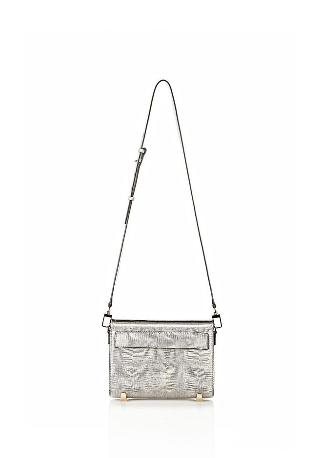 ALEXANDER WANG CHASTITY SLING IN EMBOSSED OYSTER