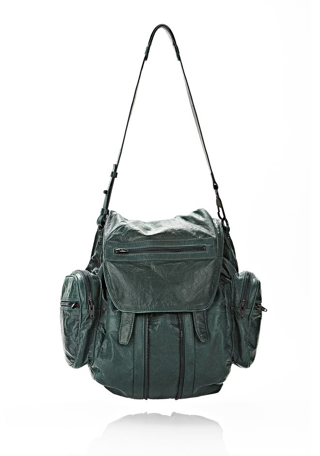 MARTI BACKPACK IN BOTTLE WITH MATTE BLACK
