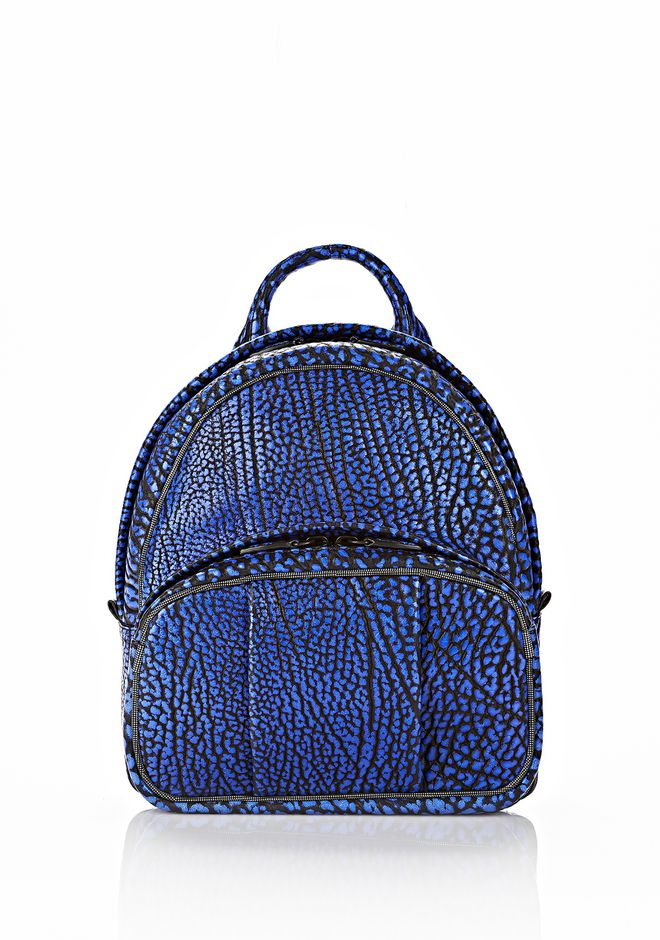 ALEXANDER WANG DUMBO BACKPACK IN CONTRAST TIP NILE