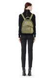 ALEXANDER WANG DUMBO BACKPACK IN CONTRAST TIP CITRON BACKPACK Adult 8_n_r