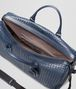 BOTTEGA VENETA LARGE DUFFEL BAG IN LIGHT TOURMALINE INTRECCIATO VN Trolley and Carry-on bag E dp