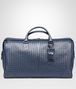 BOTTEGA VENETA LARGE DUFFEL BAG IN LIGHT TOURMALINE INTRECCIATO VN Trolley and Carry-on bag E fp