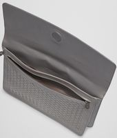 Medium Grey Intrecciato Vachette Document Case