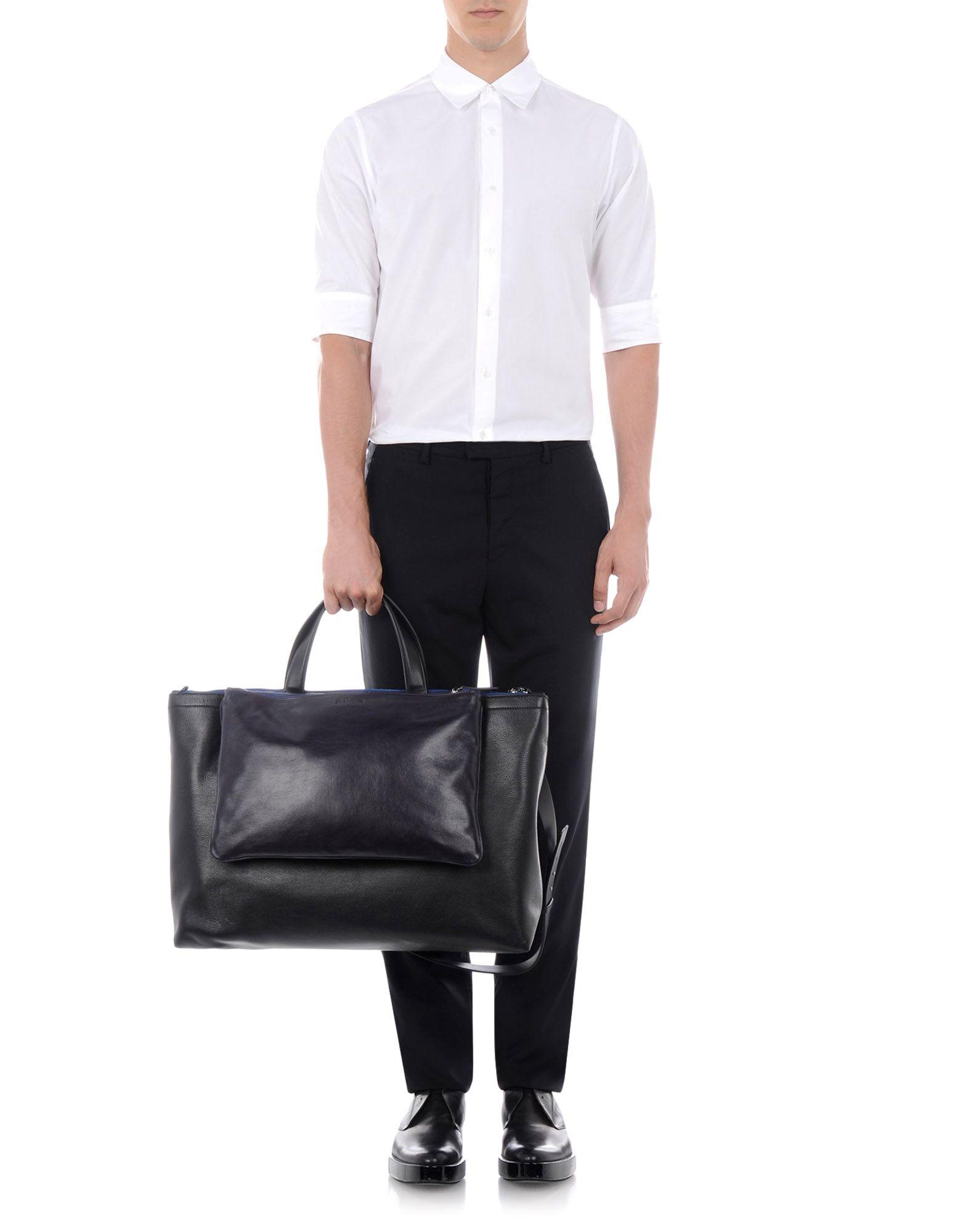Weekend Bag Men Bags Men On Jil Sander Online Store