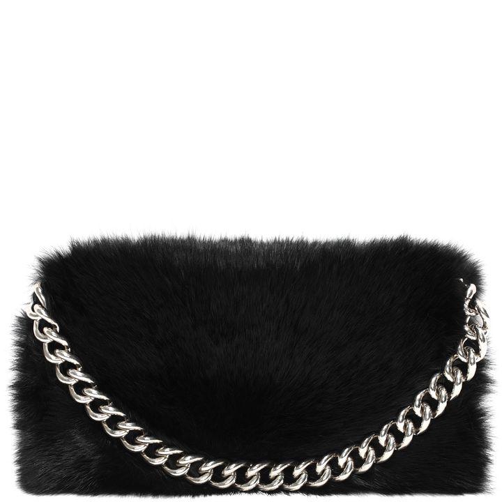 Alexander McQueen, Folded Fur Clutch
