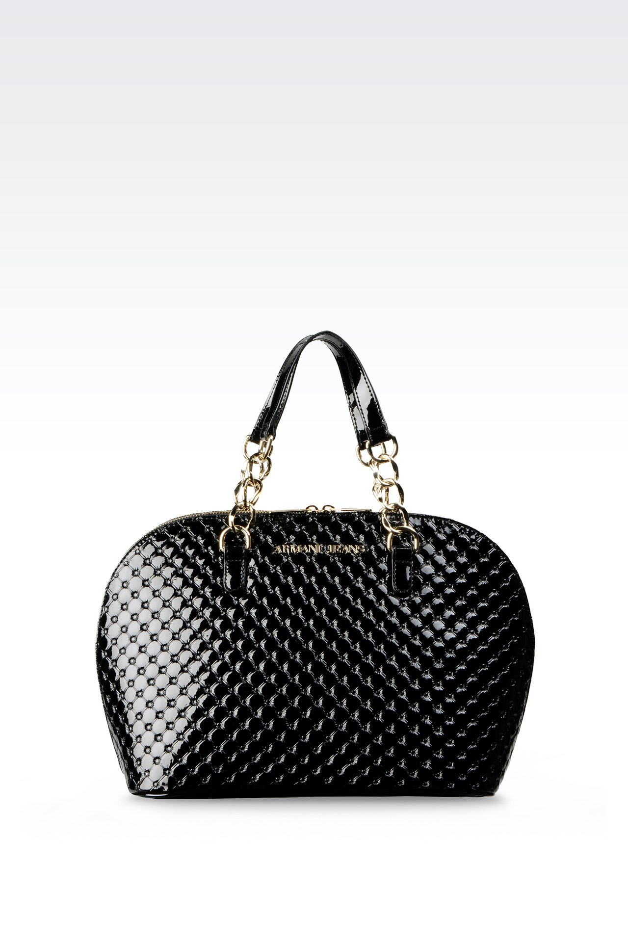 BAG IN PATENT: Top handles Women by Armani - 0