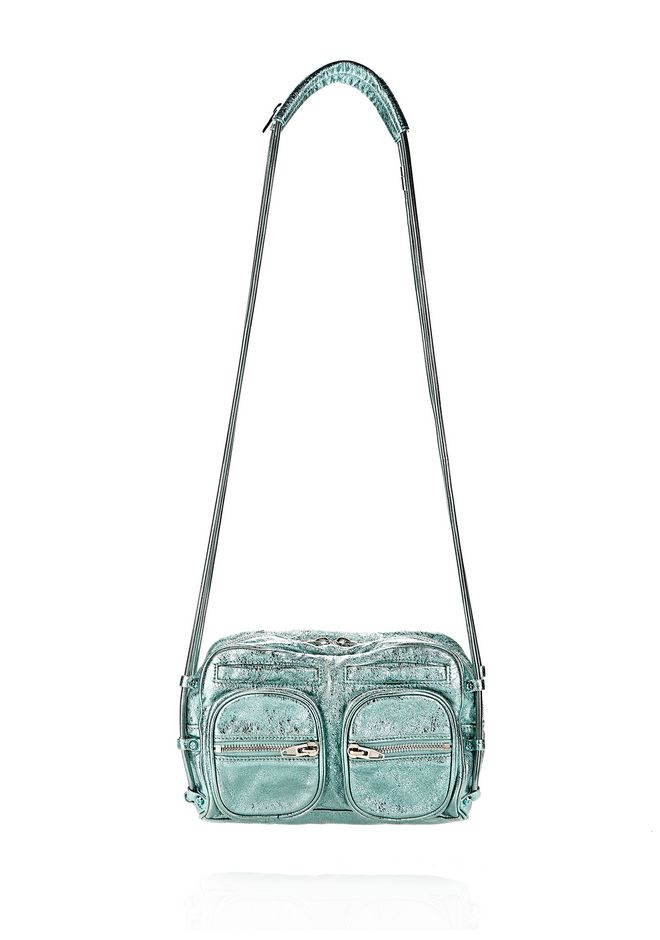 ALEXANDER WANG BRENDA CHAIN FOIL IN ZINC Shoulder bag Adult 12_n_f