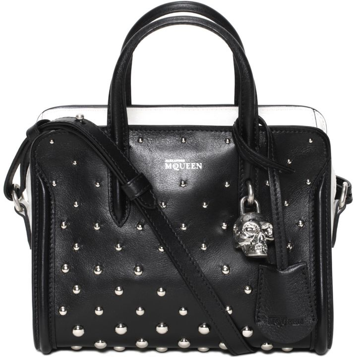 Alexander McQueen, Studded Padlock Small Zip Around