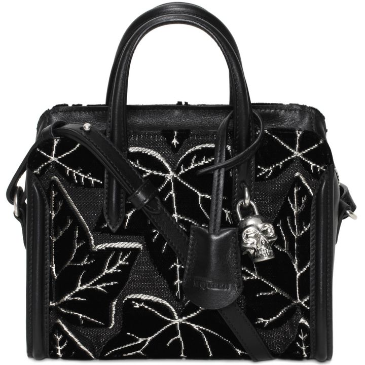 Alexander McQueen, Ivy Jacquard Padlock Small Zip Around